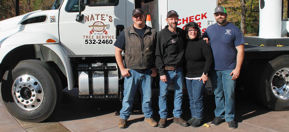 The Team at Nate's Tree service